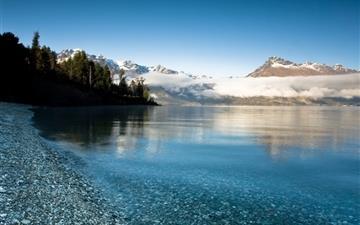 Mountain Lake Mac wallpaper