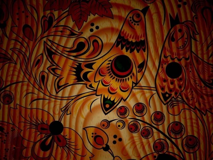 Birds Pattern Texture Mac Wallpaper