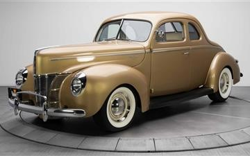 Ford V8 Deluxe Coupe Mac wallpaper