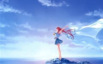 Sea girl  Mac wallpaper