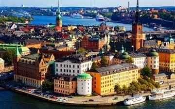 Stockholm Sweden MacBook Air wallpaper
