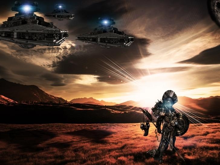 Nimrod Sci Fi Mac Wallpaper