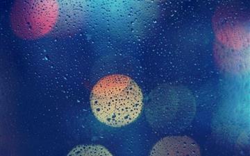 Wet Glass Mac wallpaper