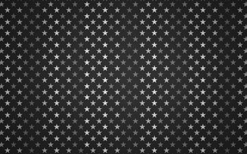Stars Pattern Black And White All Mac wallpaper