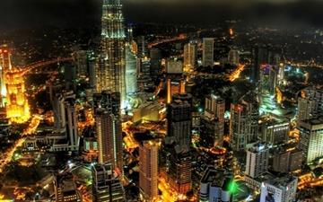 Kuala Lumpur Petronnas Towers Mac wallpaper