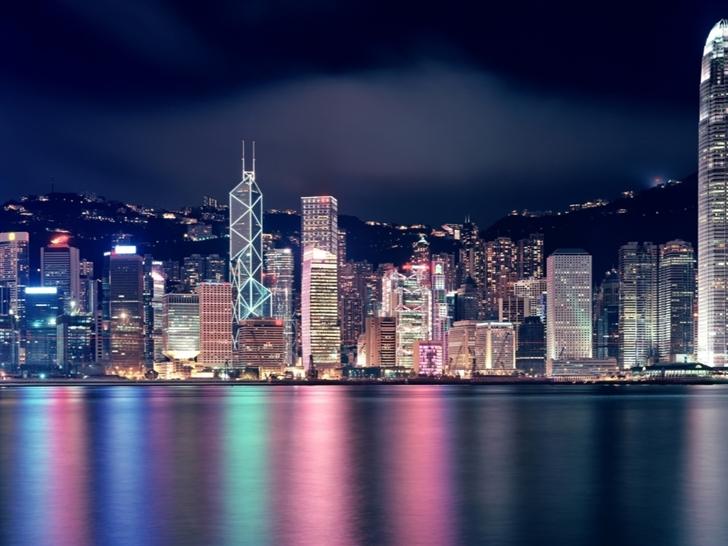Hong Kong Skyscrapers Mac Wallpaper