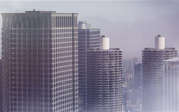 Tall Buildings Mac wallpaper