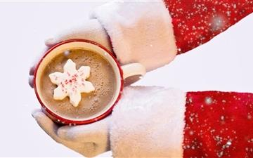 Santa Claus Hot Chocolate All Mac wallpaper