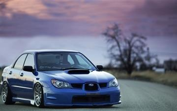 Subaru Impreza Mac wallpaper