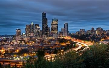 Downtown Seattle Mac wallpaper