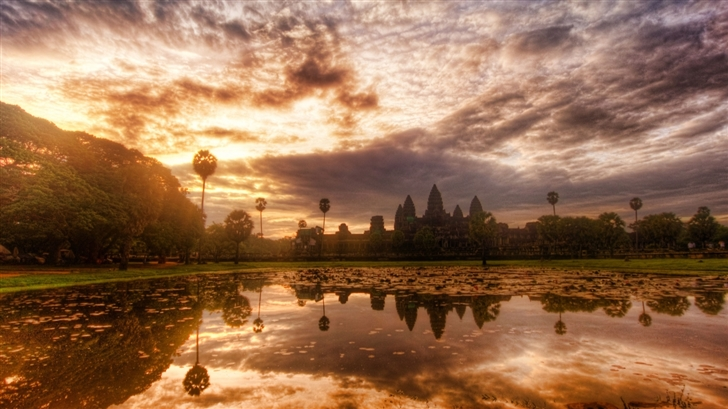 Angkor Wat Cambodia Mac Wallpaper