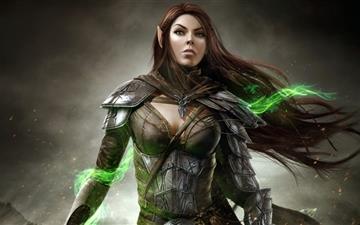 The Elder Scrolls Online Bosmer Game Mac wallpaper