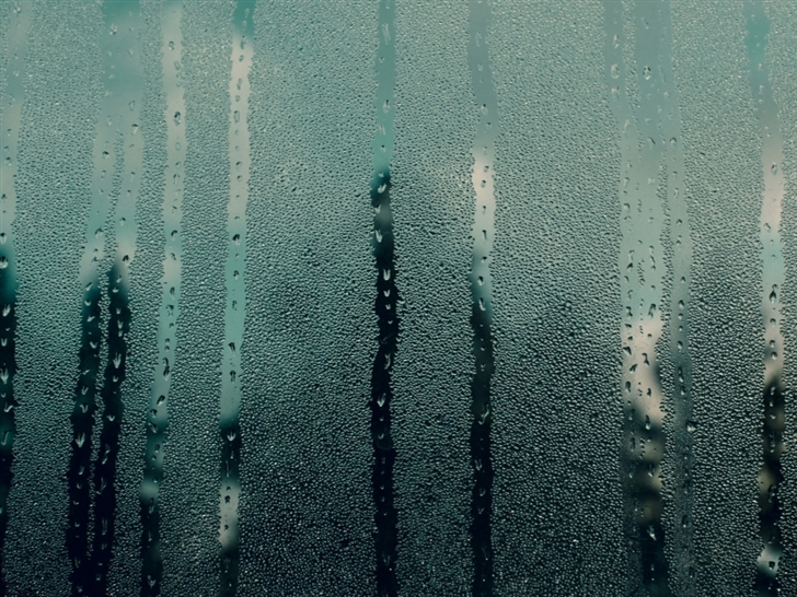 Steamy Window Mac Wallpaper