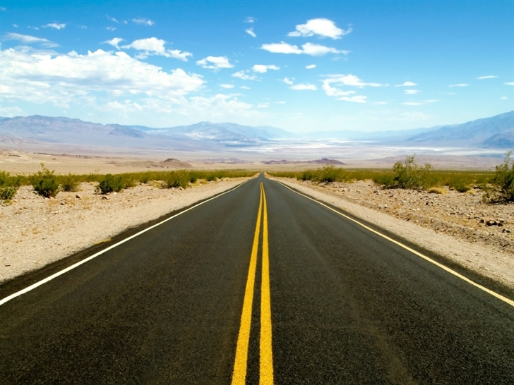 Road To Death Valley Mac Wallpaper