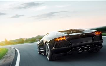 Lamborghini Aventador Art Mac wallpaper