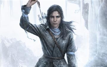Rottr Lara Croft Mac wallpaper