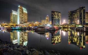San Diego Bay Mac wallpaper