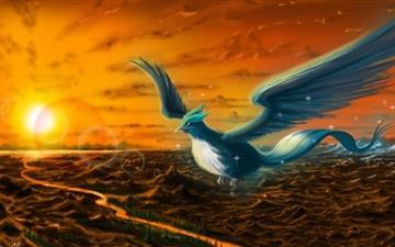 Articuno Pokemoon Mac wallpaper
