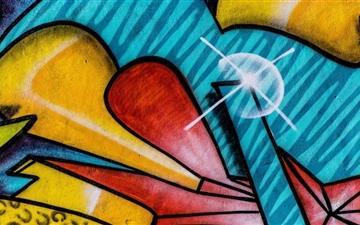 The Graffitti Mac wallpaper