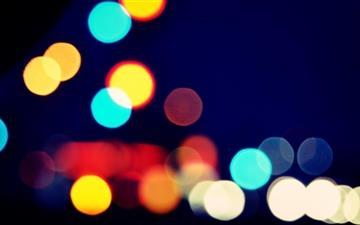 Blurred Vision Mac wallpaper