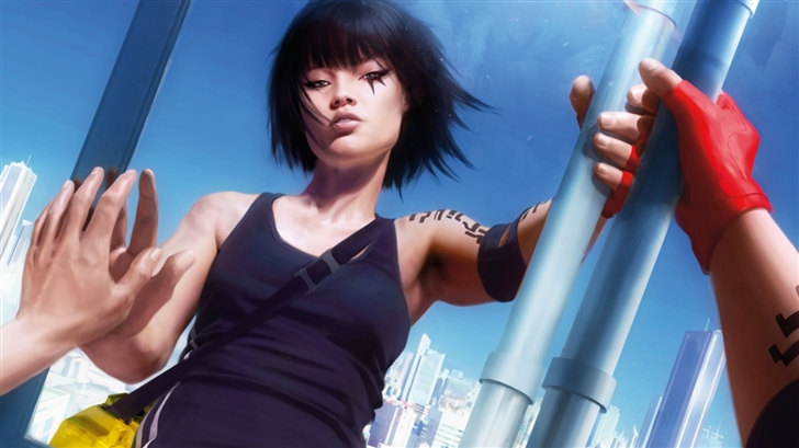 Mirrors Edge Faith Mac Wallpaper
