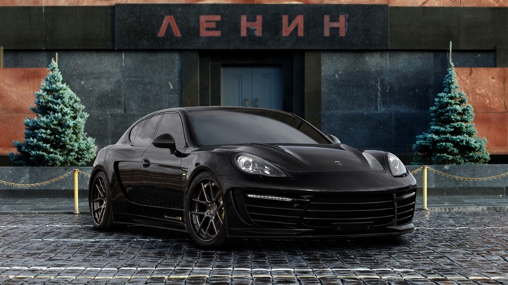 Porsche Panamera Stingray Mac Wallpaper