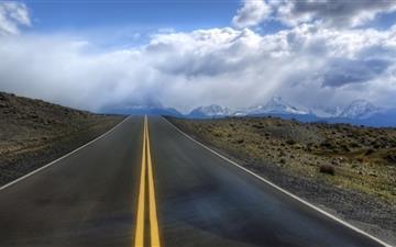 Road In Argentina Mac wallpaper