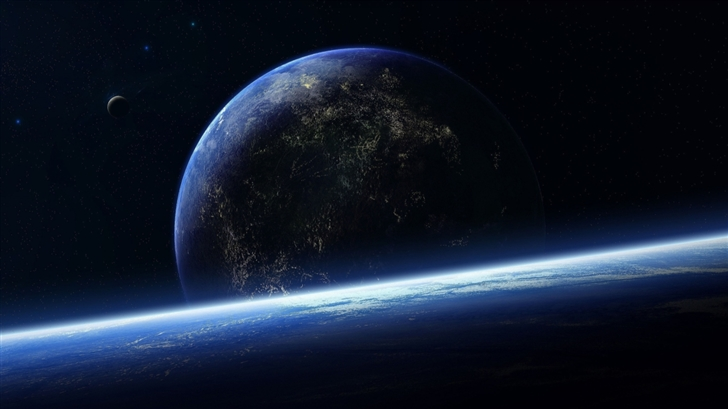 Surface Of The Planet Mac Wallpaper