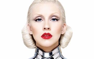 Christina Aguilera Bionic Mac wallpaper