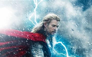 Thor The Dark World Mac wallpaper