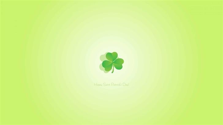 Happy Saint Patricks Day Mac Wallpaper
