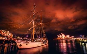 Sydney Harbor Mac wallpaper