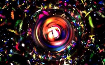 Colorful Orb Mac wallpaper