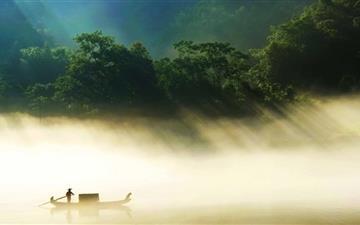 Jungle River Mac wallpaper