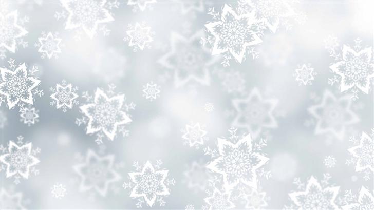 Snowflakes Texture Mac Wallpaper