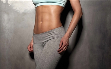 Fitness Model Female Mac wallpaper