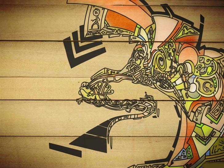 Vector graffiti Mac Wallpaper