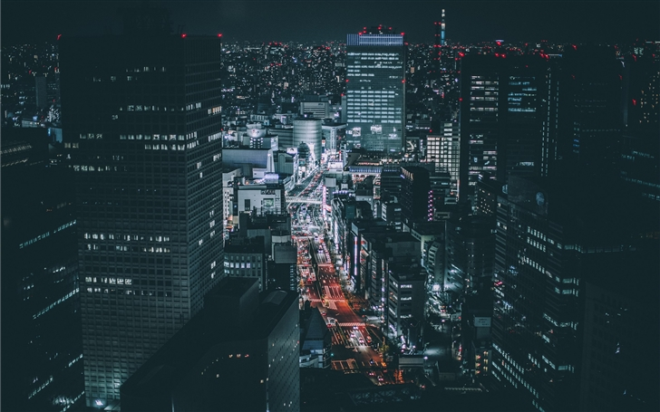 Lost in Tokyo. Mac Wallpaper