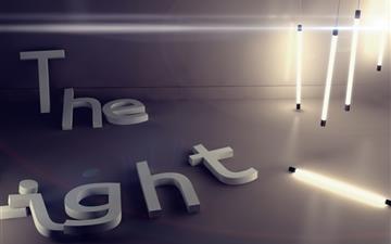 The Light Mac wallpaper