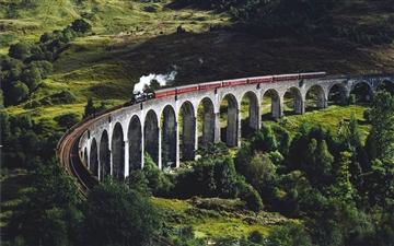 Glen Finnan Viaduct Mac wallpaper