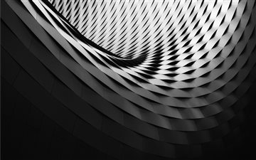 Abstract spiral pattern Mac wallpaper