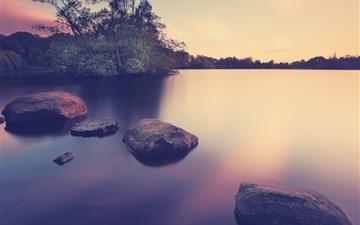 Lake landscapes Mac wallpaper