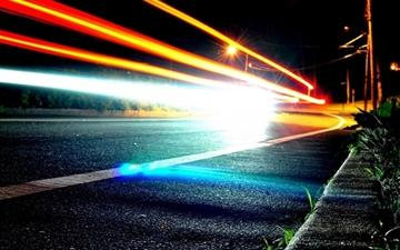 Road Lights All Mac wallpaper