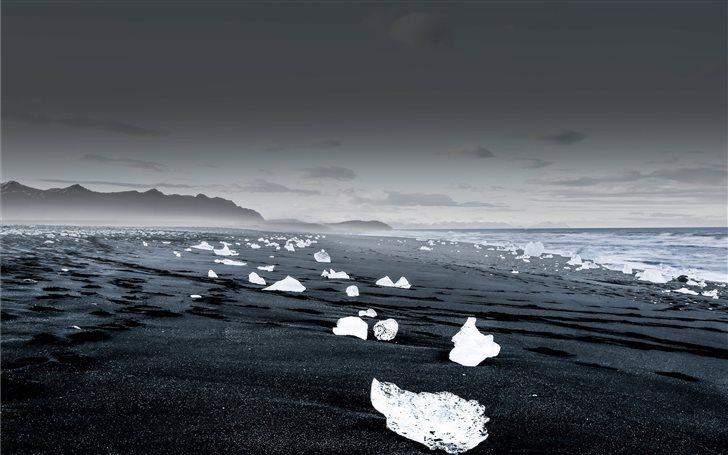 Glacier Scatter Mac Wallpaper