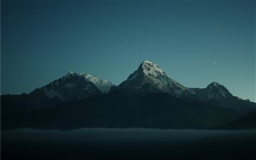 Annapurna Ranges All Mac wallpaper