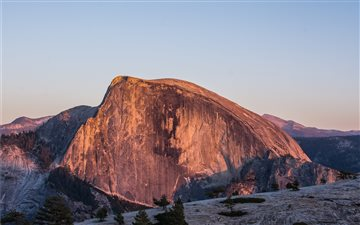 Half Dome in Yosemite Nat... All Mac wallpaper
