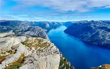 Preikestolen, Forsand, No... iMac wallpaper