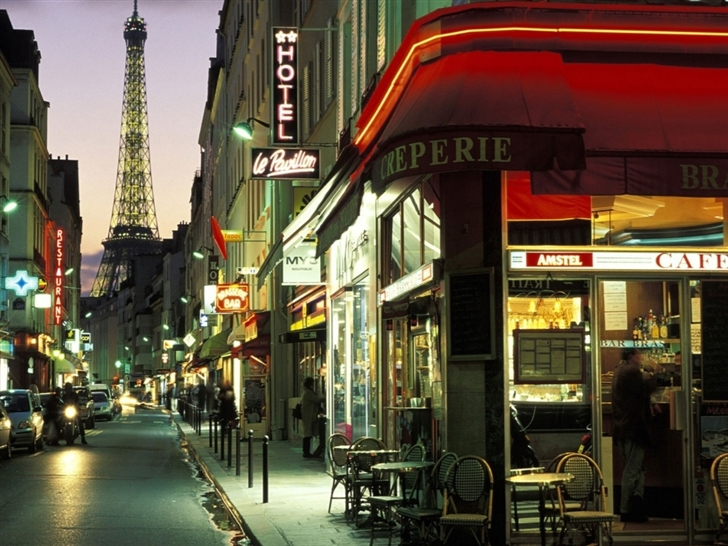 Paris Street Mac Wallpaper