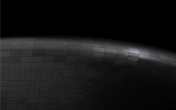 Minimal smooth steel edge Mac wallpaper