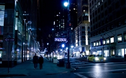 New York Night USA